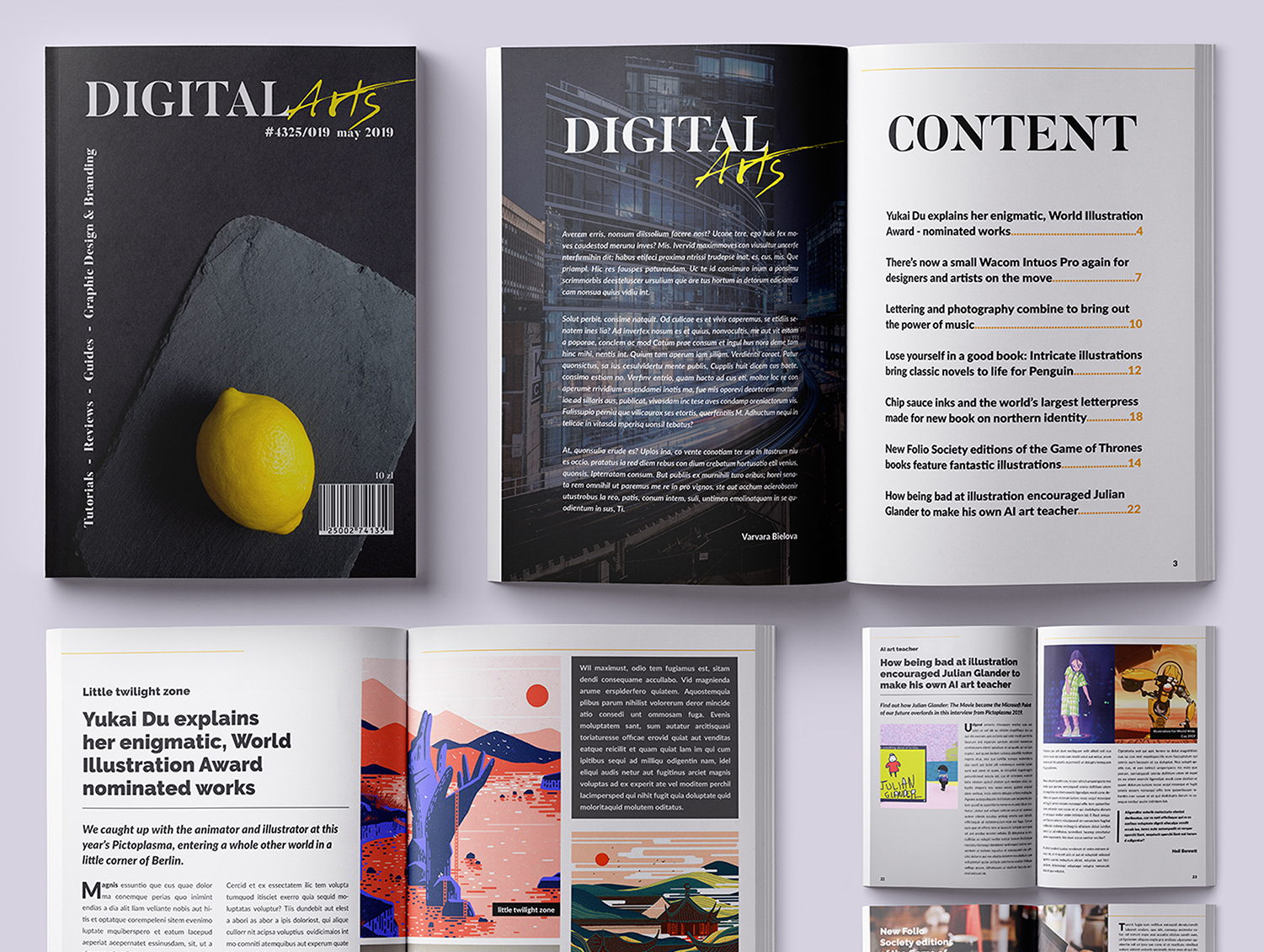 Design of Magazine