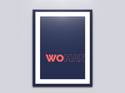 Woman is not part of the man